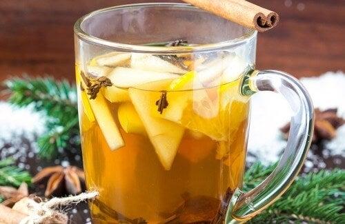 リンゴ・シナモン・アニス・/クローブの健康茶