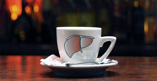コーヒー肝臓
