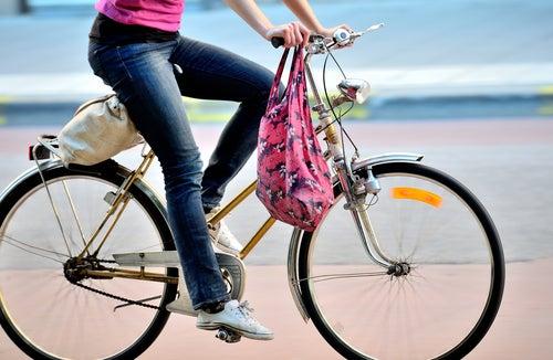 自転車で出かける