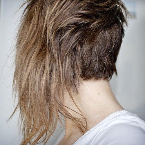 艶のない髪