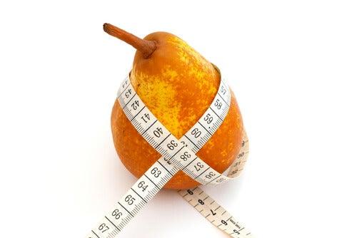 基礎代謝を上げる洋ナシとリンゴ