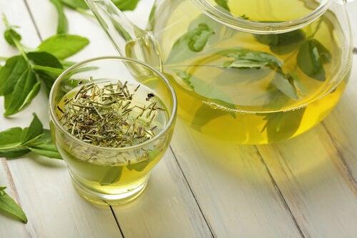 すい臓をデトックス:緑茶