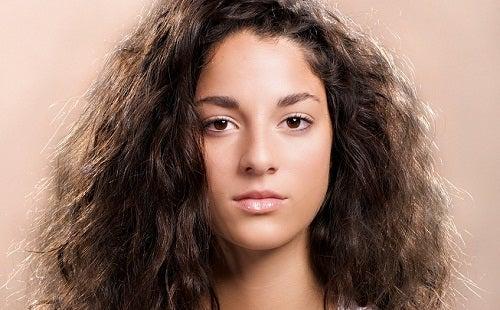 くせのある髪の毛