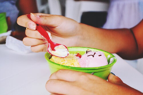 ヘルシーアイスクリームの例