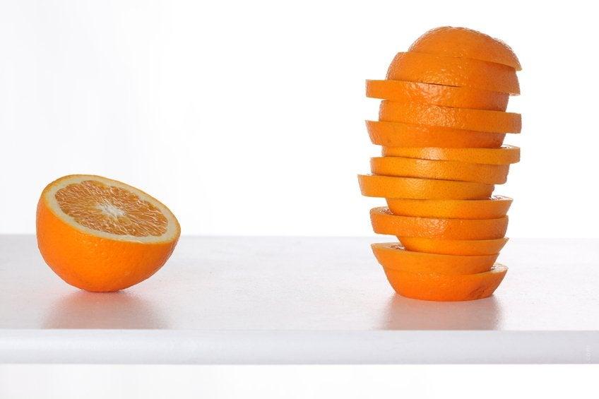 オレンジの皮:驚きの効用