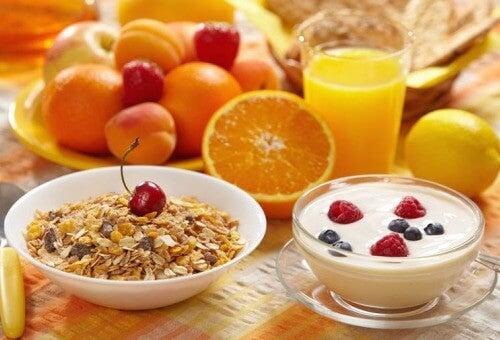健康的な朝ごはん