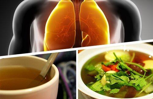 肺デトックスのための食事