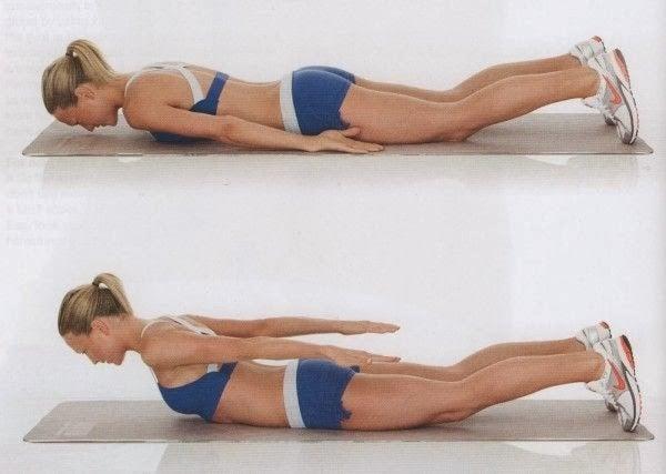 背中の脂肪をとる運動