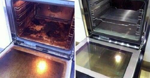 自然素材を使って/オーブンをきれいにするには
