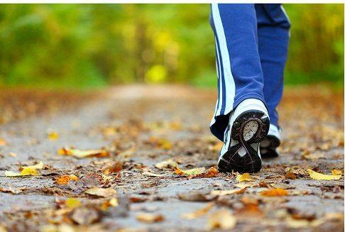 歩いて減量