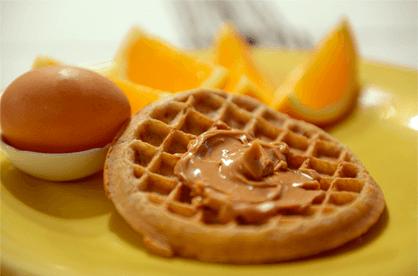 ヘルシーな簡単朝食