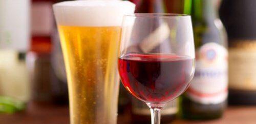 ビール、ワイン