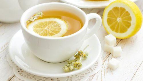 レモンの皮のお茶