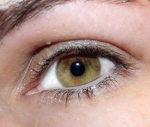 眼の痛み.綺麗な瞳