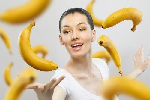 バナナの素晴らしい効果