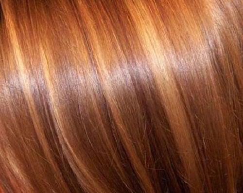 オキシドールで髪のハイライト