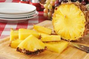 パイナップルの効能:/利尿作用と解毒作用