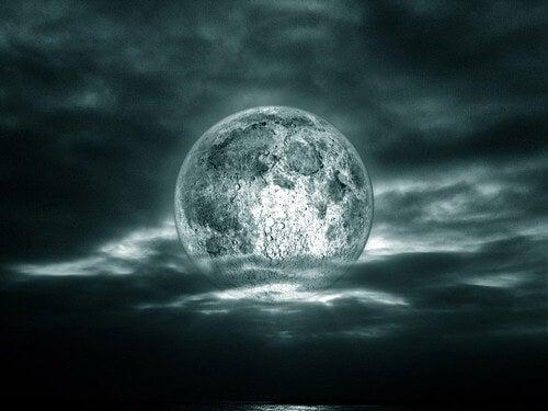 満ち欠けにより、私たちが受ける月の影響