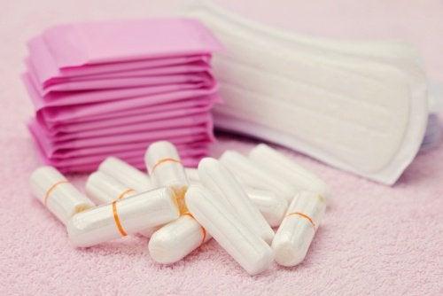女性用衛生用品の85%近くに含まれるグリホサート