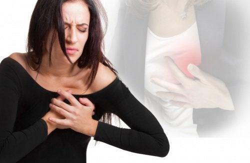 気が付きにくい女性の 心臓発作 の症状