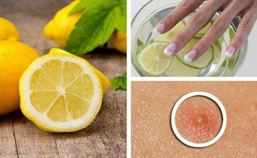 レモンを使った6つの美容術