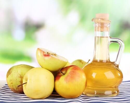 爪水虫に効くリンゴ酢