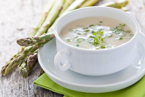 アスパラガススープ