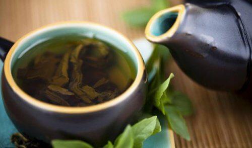 緑茶とレモンとステビアの/癒しのデトックス