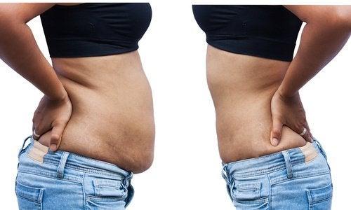 お腹に脂肪が蓄積される8つの理由