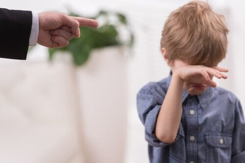 boy-crying-with-dad-pointing-finger