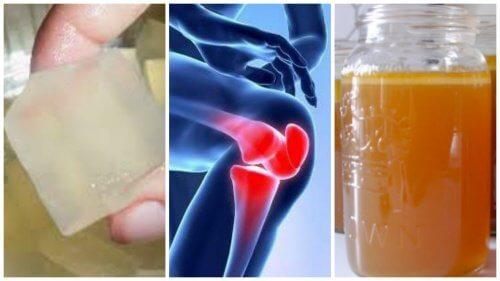 ゼラチンを使って/関節の痛みを和らげる方法