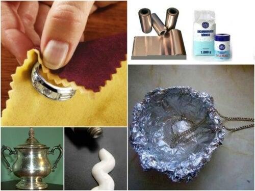 ご家庭で銀製品をお手入れする/7つの方法