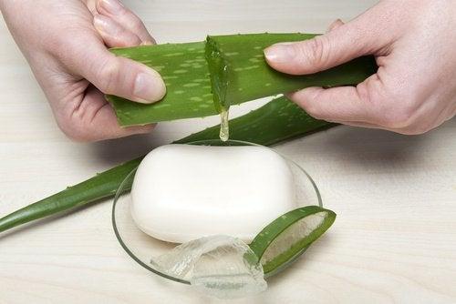 お肌しっとり! 自家製アロエベラ石鹸 の作り方