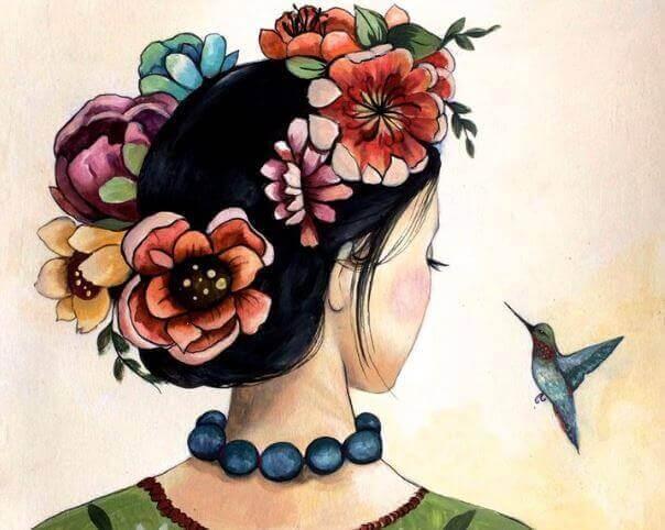 3-woman-and-bird