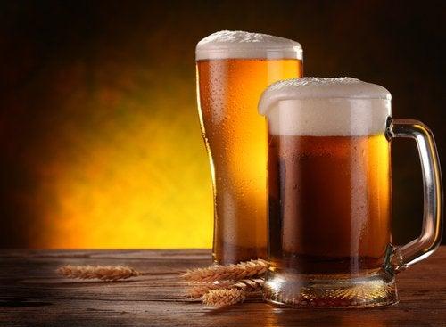 髪と爪を強くするビール