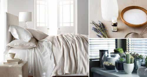 寝室を清潔に保つために押さえておきたい8つの簡単なコツ