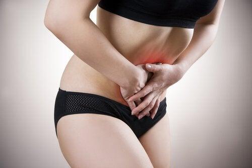 腹部の痛み