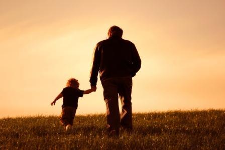 grandfather-grandchild