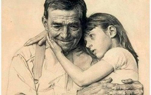 心の中で生き続ける祖父母