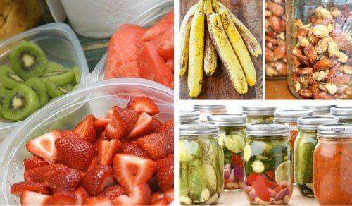 間違った食品の保存例と鮮度を保つための正しい保存方法6選
