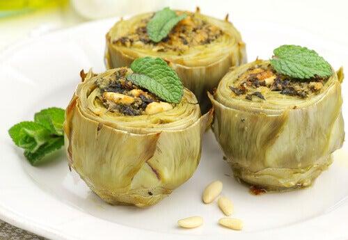 baked-artichokes