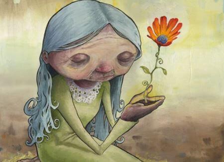old-flower