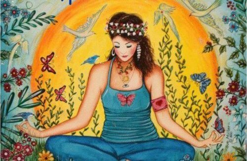 woman-in-lotus-position