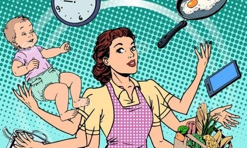 夫がいると女性の家事労働時間が/7時間増えるってホント?!