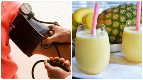 高血圧改善のためのモーニングスムージー