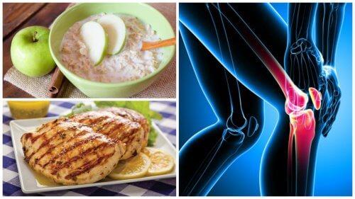 骨と関節の健康に欠かせない食事2種