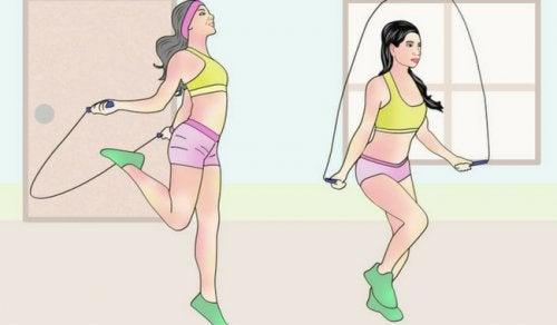 なわ跳びの6つの健康効果