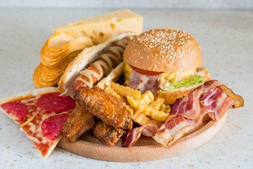 質の悪い食生活