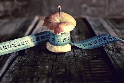 リンゴを測る