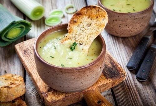 ネギのスープ